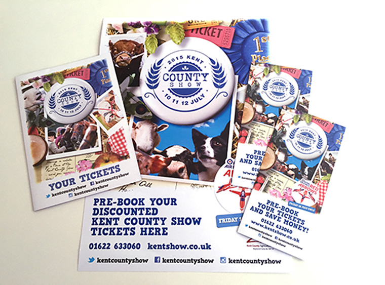 KMCreate is a marketing resource for many local businesses/events, including the Kent County Show.
