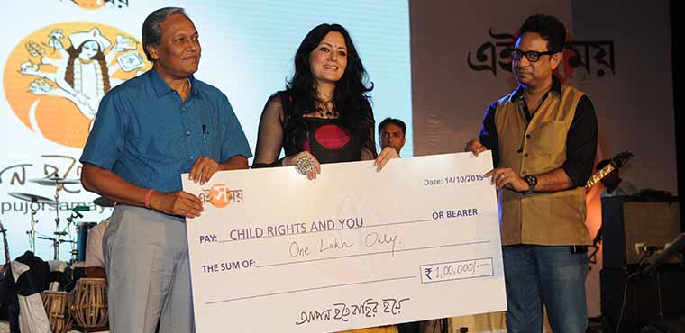 Child Rights and You receives a large donation from the Ei Samay community initiative.