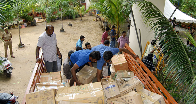More than 200,000 were helped by the Chennai Rising campaign, which delivered critical supplies.