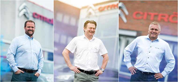 Three local car dealers became the faces of the campaign. One was featured in each city — Tom Georg from Moss, Tor-Martin from Fredrikstad, og Ulf from Sarpsborg — to give the native ads a feeling of personal, hometown connection.
