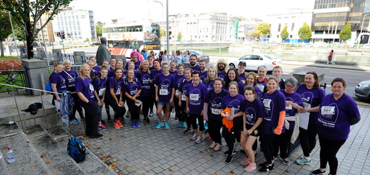 Participants gear up for the annual Evening Echo Women's Mini Marathon. A partnership with Tesco infused the most recent race with new energy.