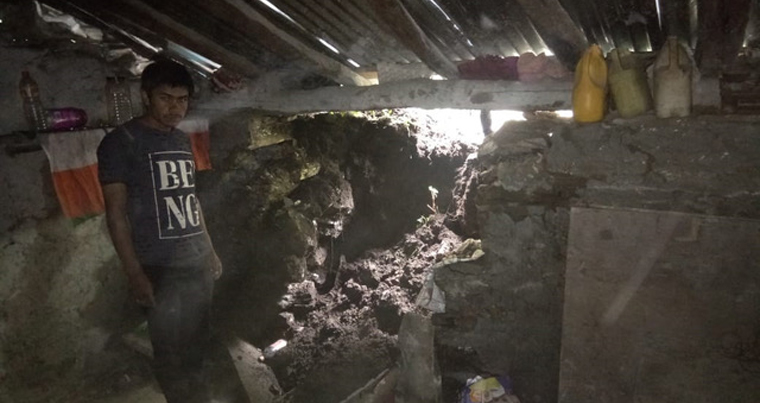 Several houses collapsed and many suffered severe damage after recent landslides in Patharkot and Munsiyari.