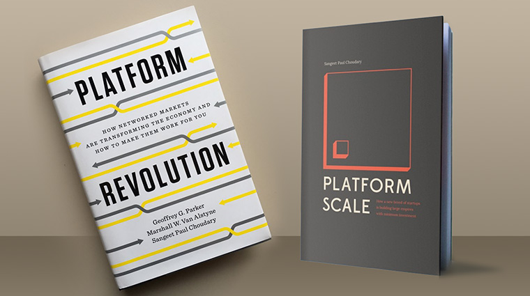 "Sangeet Paul Choudary, CEO of Platform Strategy Labs, is the author of ""Platform Scale"" and co-author of ""Platform Revolution."""