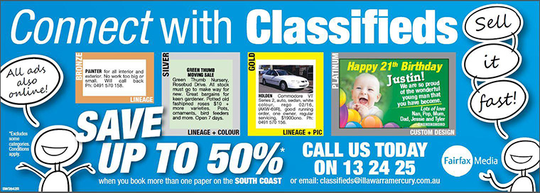 Australian Community Media's Connect with Classifieds campaign featured a new brand creative.