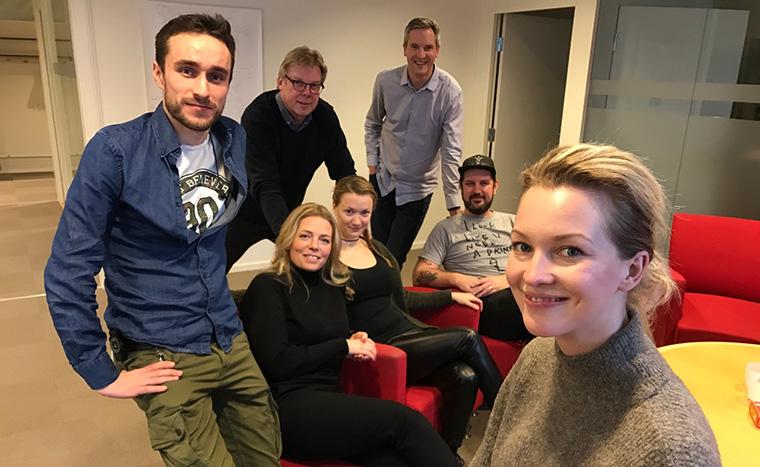 The MittMedia Live Video Hub team creates innovative breaking news.
