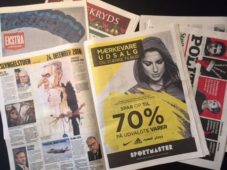Ekstra Bladet and other JP/Politikens Hus titles have increased their print advertising with an innovative new print buying model.