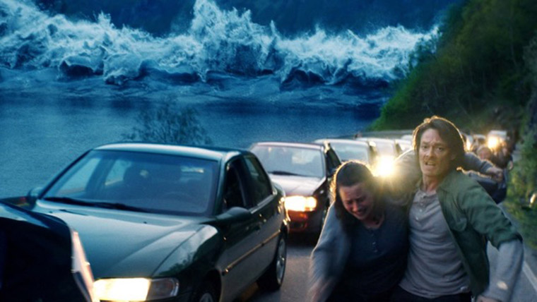 The Wave movie depicts the actual 1934 Tafjord tsunami disaster as if it happened today.
