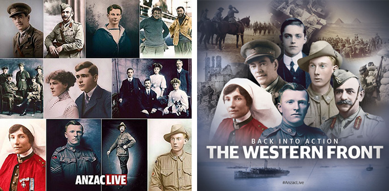 AnzacLive, a real-time interactive historical re-enactment, was News Corp's answer to commemorating the Anzac Day 100th anniversary.