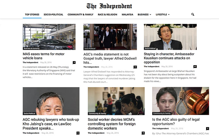 The Independent Singapore has evolved into a media company that reaches 750,000 readers, just three years after launch.