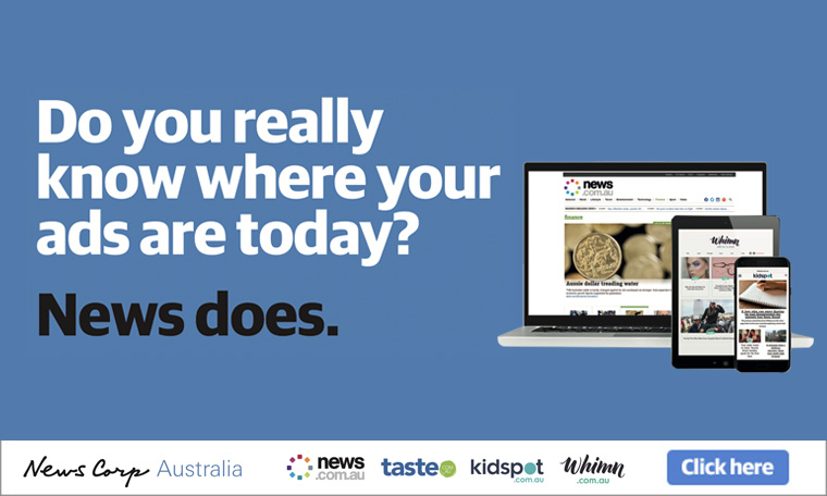 """Get Real. Get News"" creates brand recognition and confidence in News Corp Australia's advertisers."