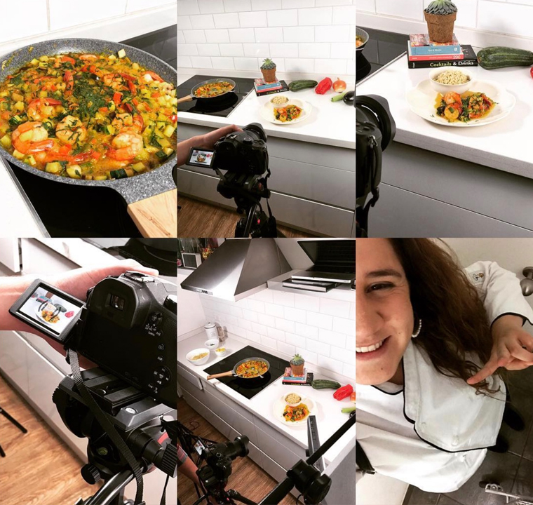 The Sagrosso team produces its own original, exclusive cooking videos.