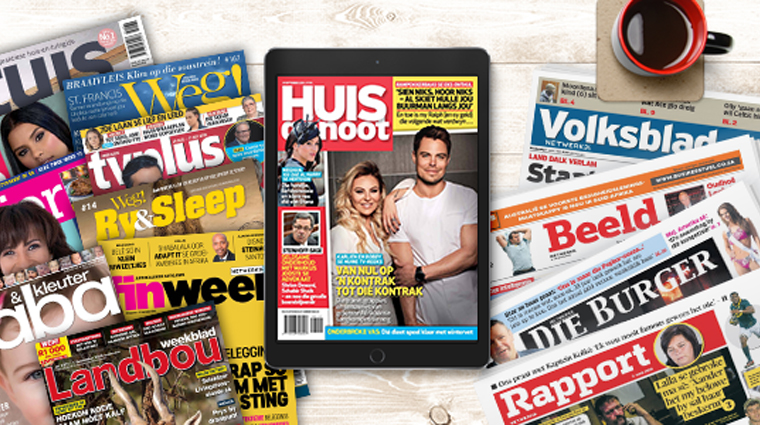 Netwerk24 has become a digital Afrikaans media outlet with 30 print newspapers and 11 magazines in Afrikaans.