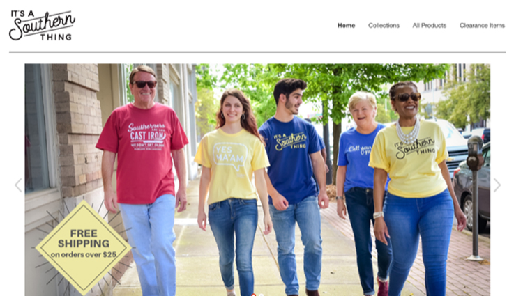More than just a campaign, It's a Southern Thing has developed into its own brand complete with merchandise.