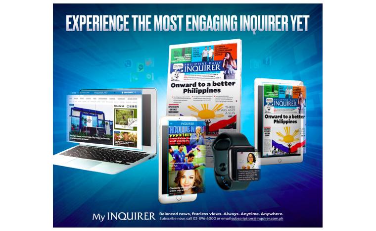 The effective, people-oriented relaunch campaign helped reposition Philippine Daily Inquirer as the go-to brand across all platforms: print, mobile, tablet, PC, and even smartwatch.