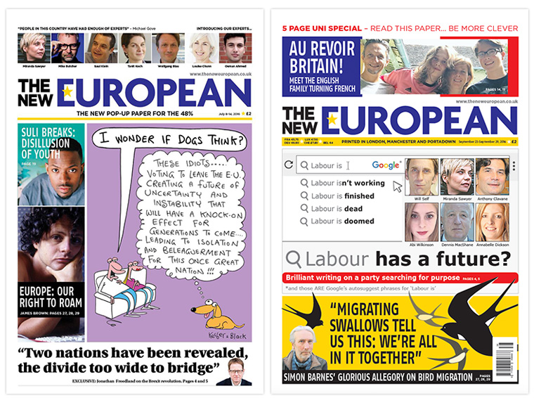 "Not only was The New European unique in targeting its particular audience, it also was launched to test out Archant's ""pop-up"" publishing concept. Its success begs the question: Could this strategy be successful again with other target audiences?"