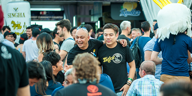 Events such as Beerfest Asia complete the media value chain that includes readers, advertisers, and journalists.