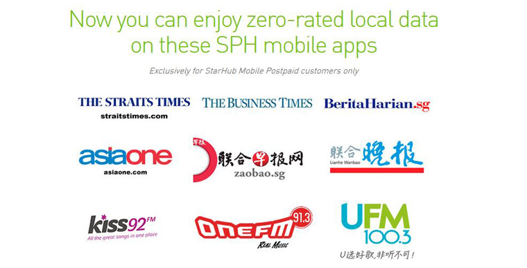 Leveraging on the strength of its comprehensive media reach, SPH raised awareness on the advantages of the data waiver for readers who were StarHub mobile subscribers. The benefits were highlighted in Chinese and English to drive usage of its news and radio apps.
