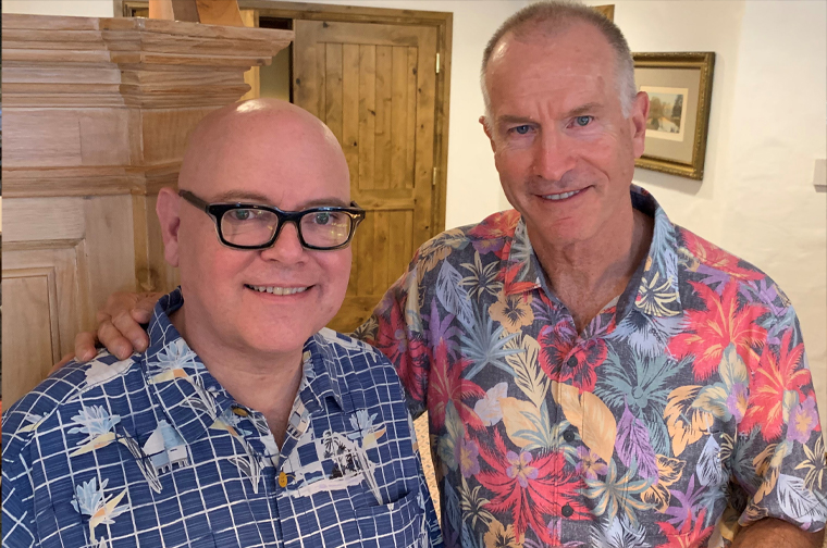 "INMA will continue the ""informal spirit"" of the Vail Roundtable, as exemplified by the attire of INMA CEO/Executive Director Earl J. Wilkinson and Roundtable Founder Tom Ratkovich at last week's event."