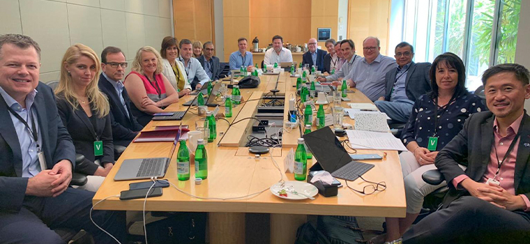 INMA President Damian Eales of News Corp Australia chaired the two-day board of directors meeting in Sydney.