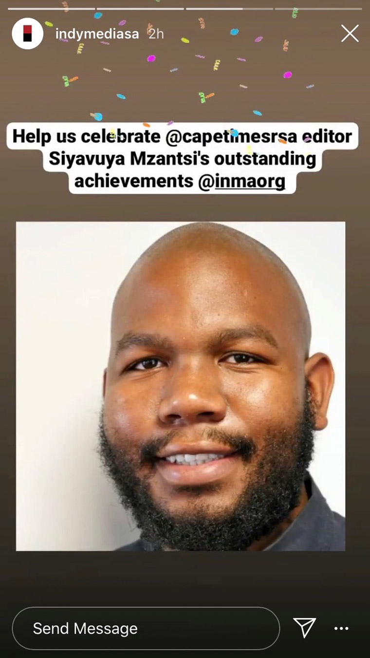 Siyavuya Mzantsi is an editor at Independent Media in South Africa.