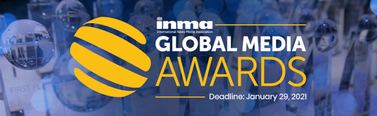 INMA has tweaked its Global Media Awards for 2021. The deadline to enter is January 29.