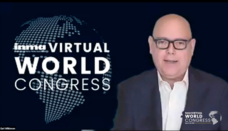 INMA Executive Director/CEO is moderating the Virtual World Congress from his Dallas home, bringing together attendees from 43 countries in INMA's first virtual conference.