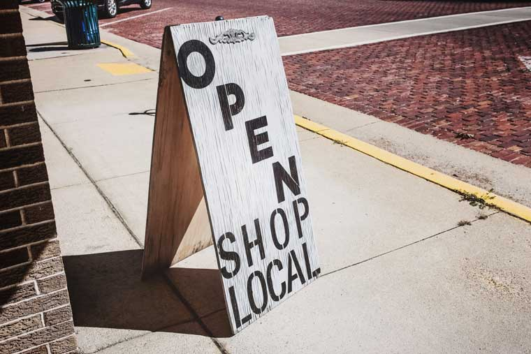 Shopping local was one of the key trends of 2020.