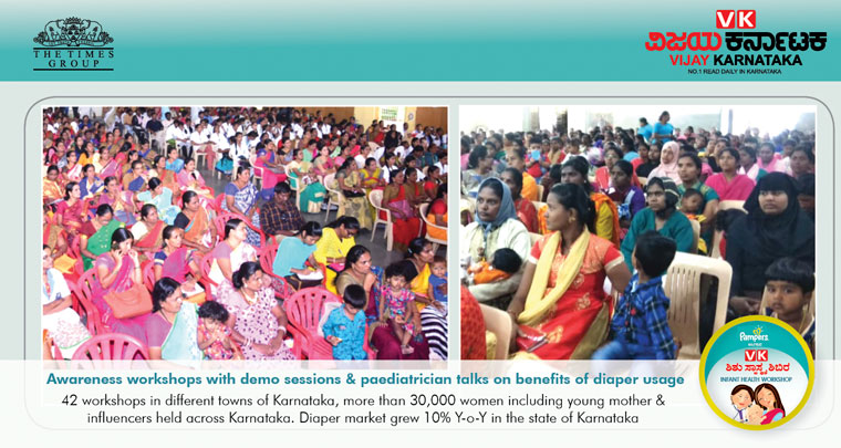 More than 30,000 women attended the in-person workshiops, which created awareness and education about infant care.