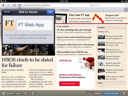 INMA: Financial Times weighs in on Web vs  native app debate