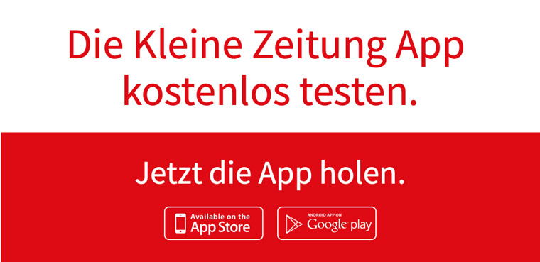 The Kleine Web + App campaign is intended to catch the attention of Generation Y readers.