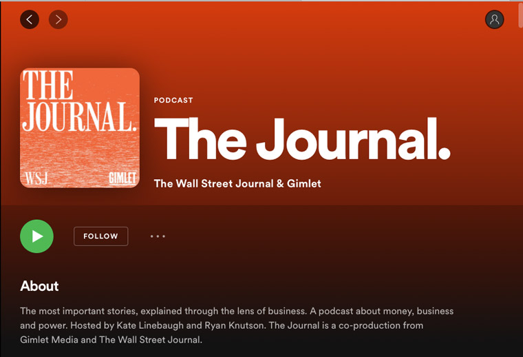 A partnership between The Wall Street Journal and Spotify has added value for both companies.