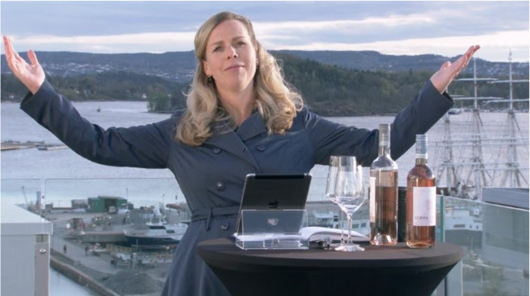 When the global lockdown hit, Aftenposten took its wine tastings online with wine expert Ingvild Tennfjord.
