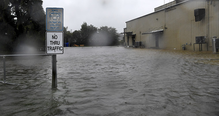 Florida Today used Facebook Live and other means to keep local residents updated on events related to Hurricane Matthew.