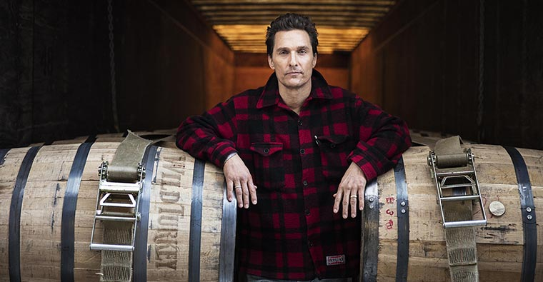 Wild Turkey has partnered with Matthew McConaughey to tell its local story about bourbon to an international audience.