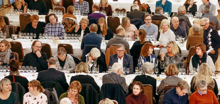 The Wine Club attracted an older and more affluent audience.