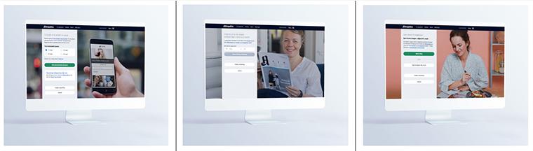 Los clientes pueden elegir entre una variedad de ofertas personalizadas basadas en la solución que mejor se adapte a ellos.