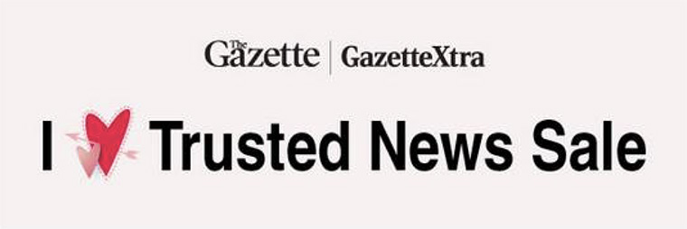 The Gazette has launched a campaign focusing on its trustworthy value.