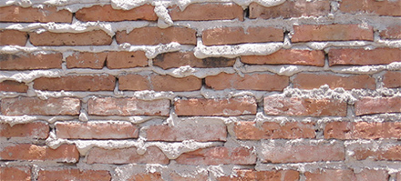 Image of a brick wall representing why publishers should move to their own brick and mortar stores