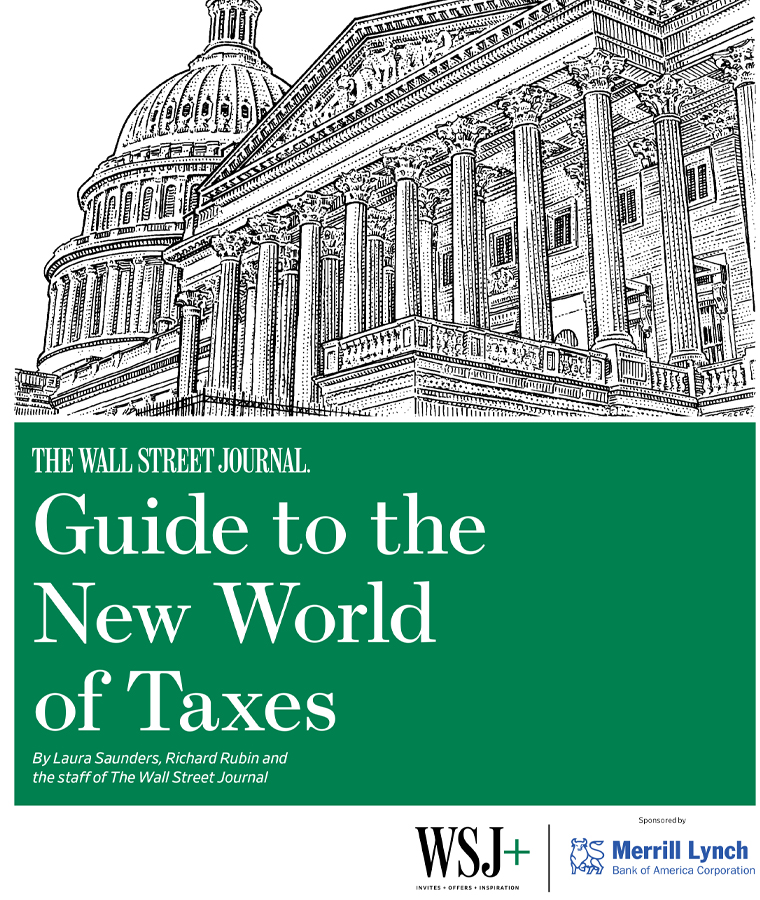 "WSJ+ amplifies WSJ coverage with access to member-only content, such as the popular ""Guide to the New World of Taxes."""