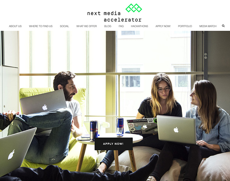 Next Media Accelerator is a win-win for legacy media companies and start-up entrepreneurs.