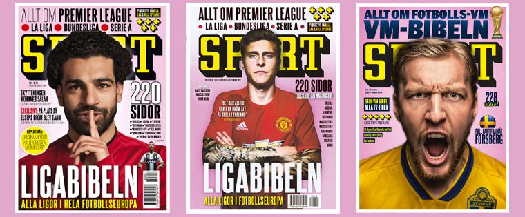 Sportbladet greatly expanded sports coverage in Sweden.