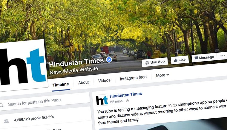 The Hindustan Times successfully uses social media as an engagement platform: Its Facebook community surged from 500,000 to 4.5 million in two years; Twitter from 200,000 to 2.8 million.