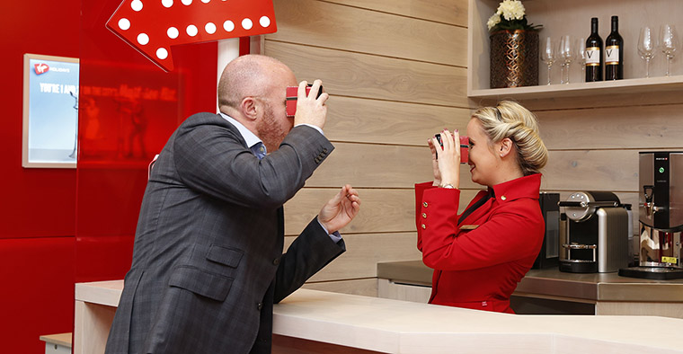 Virgin Holidays has won awards for its innovative interactive customer experiences.
