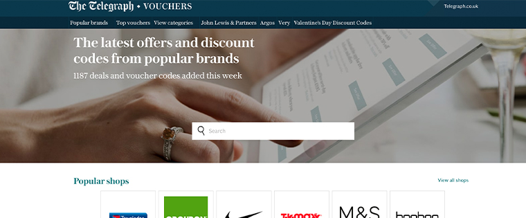 The Telegraph's voucher programme helps reach new potential readers.