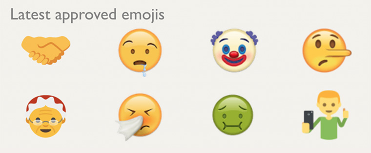 New emojis are constantly being added so users can communicate with visual icons.