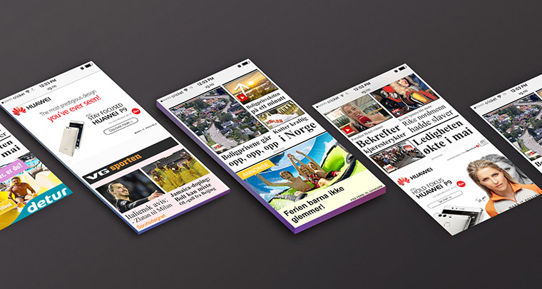 VG's advertising initiatives help ensure advertisements are actually seen by viewers.