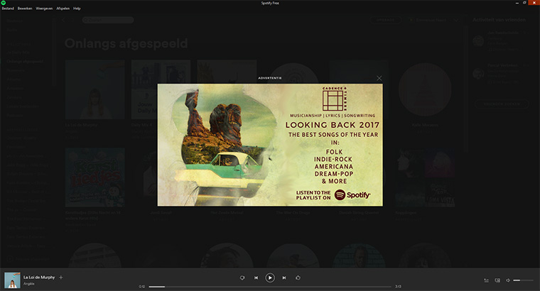 Spotify offers an ad-free experience but to the detriment of prospective advertisers.