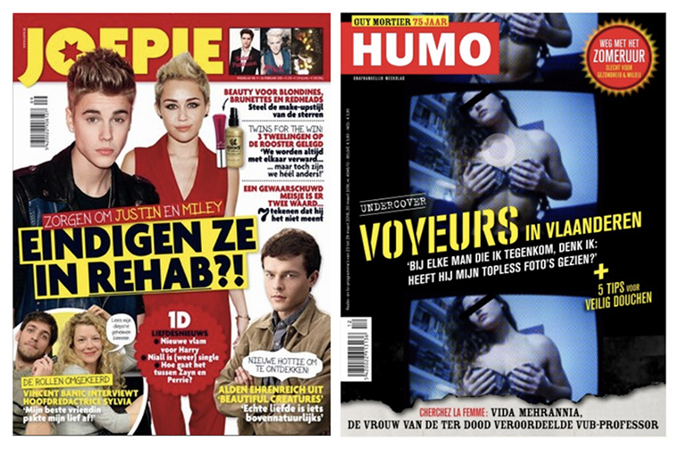 The popular Belgian publication Joepie has declined in circulation in recent years.