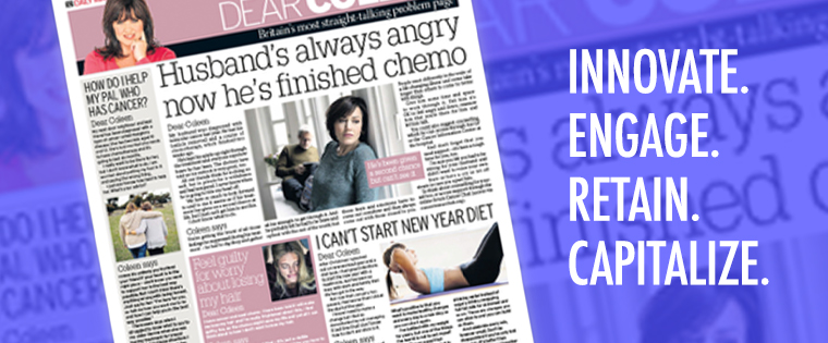 Cancer Research UK took over popular pages to capture attention.