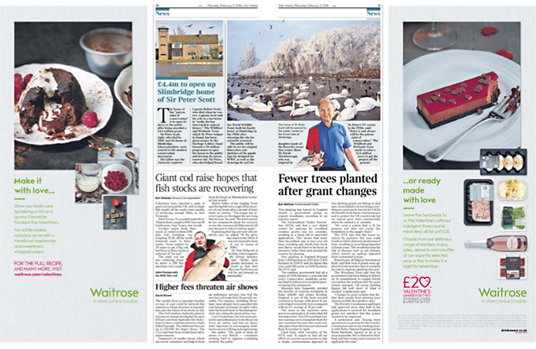 Waitrose's print advertisements appeal to readers.